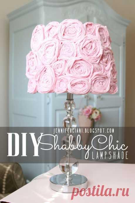 Shabby Chic Lamp Shade | Simply Ciani