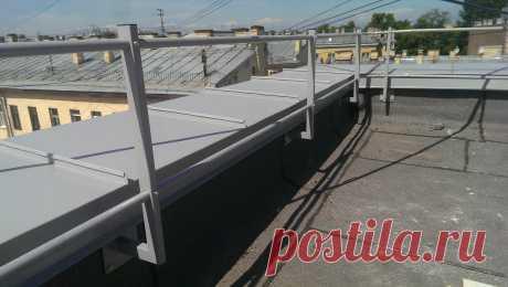 Минимальная высота парапета на плоской кровле по СНиПу: конструкция парапета на крыше