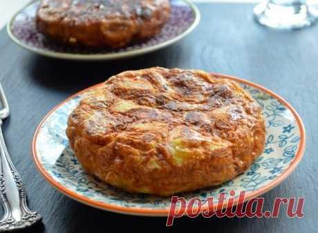 Как приготовить испанская классика - тортилья с картофелем - рецепт, ингредиенты и фотографии