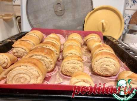 Армянское печенье Гата Описание: Напоминает то ли слоеные пирожки, то ли рулетики со сладкой начинкой. Во время приготовления гату нарезают небольшими кусочками, отчего ее и стали...