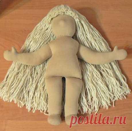 Подробный МК по вальдорфской кукле.