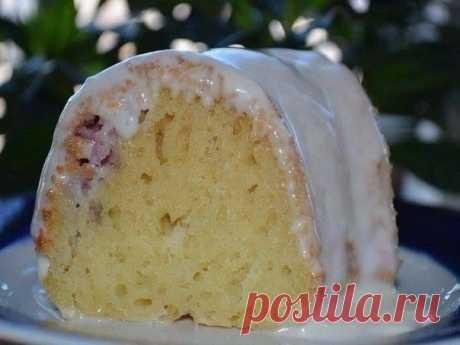 Como preparar mannik con las bayas y smetannym por la crema - la receta, ingridienty y la fotografía