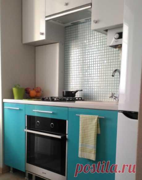Кухня на 5,3 квадратных метрах