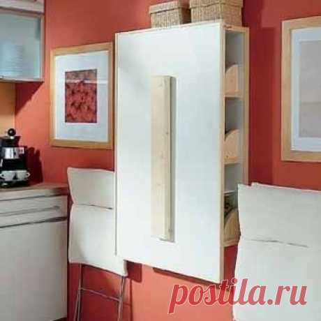 """here and the decision - a table case for a kitchenette in """"хрущевке""""-2"""