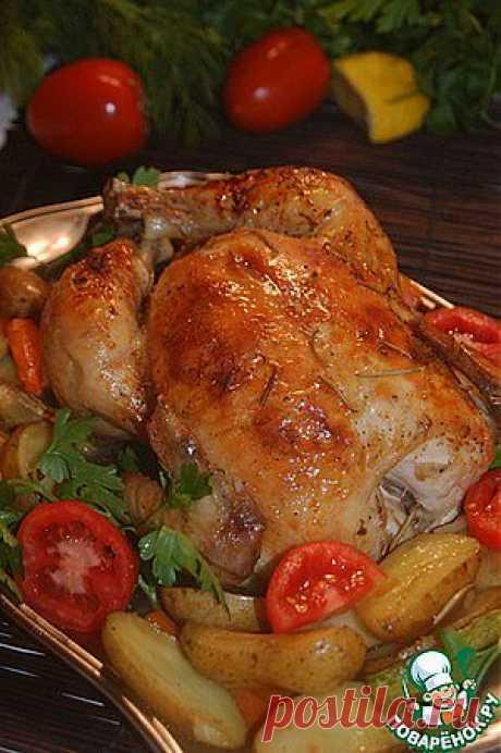 Секретная курица-2 - кулинарный рецепт