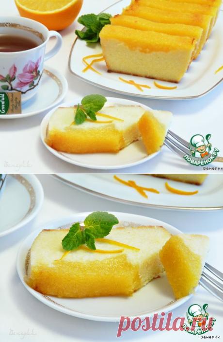 Творожно-апельсиновая запеканка – кулинарный рецепт