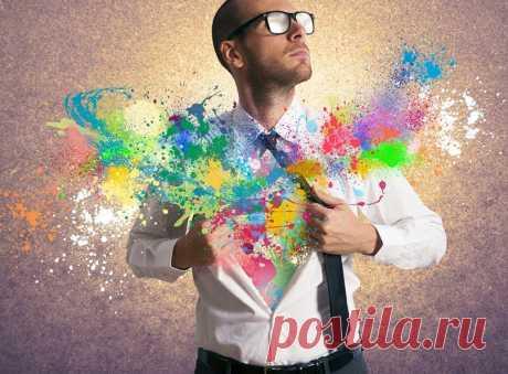 """Как создавать креатив?   Журнал """"JK"""" Джей Кей Креативные идеи — основа крутых стартапов, маркетинговых стратегий и рекламных кампаний. Читайте пять стратегий, которые помогают настроиться на творческий поиск:"""