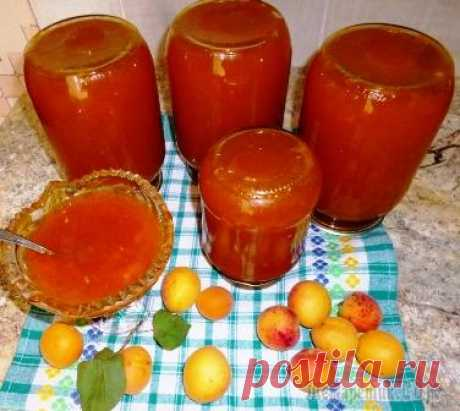 Джем из абрикос, апельсина, лимона и желирующего средства