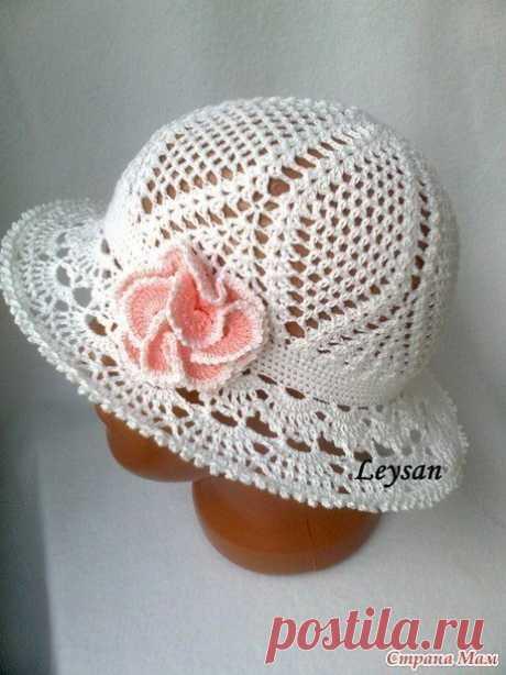 МК: панамка-шляпка крючком из категории Интересные идеи – Вязаные идеи, идеи для вязания