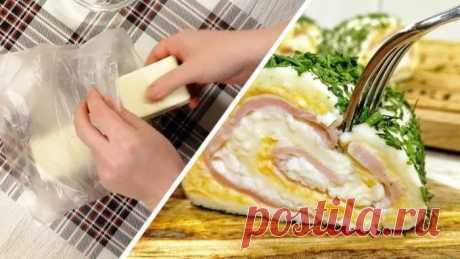 Очень вкусная и нежная закуска из плавленых сырков Очень вкусная и нежная закуска из плавленых сырков. Попробуйте, вам понравится!  Ингредиенты:   2 плавленых сырка (по 90 гр)  4 яйца  60-80 гр ветчины  1 ст. л. майонеза  1 ст. л. сметаны  1 зубчик чеснока  соль  пучок укропа    Подробное приготовление закуски из плавленных сы