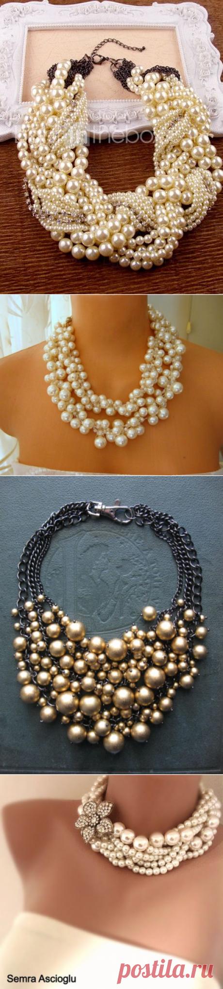Намисто з перлин( 20 фото-ідей)   Ідеї декору