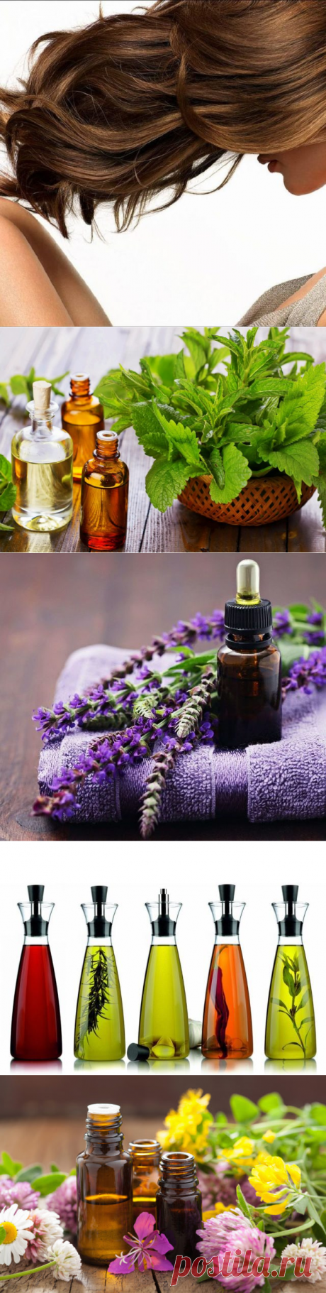 Essential oils for density and the volume of hair