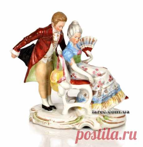 Старинная немецкая статуэтка из фарфора Германия в коллекцию | Интернет-магазин подарков Ларец идеальная сохранность. Бесплатная доставка по Киеву