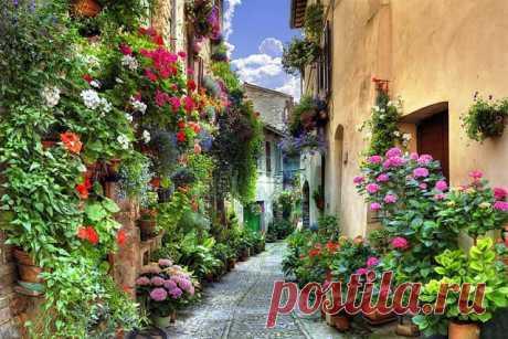 Спелло, Италия.