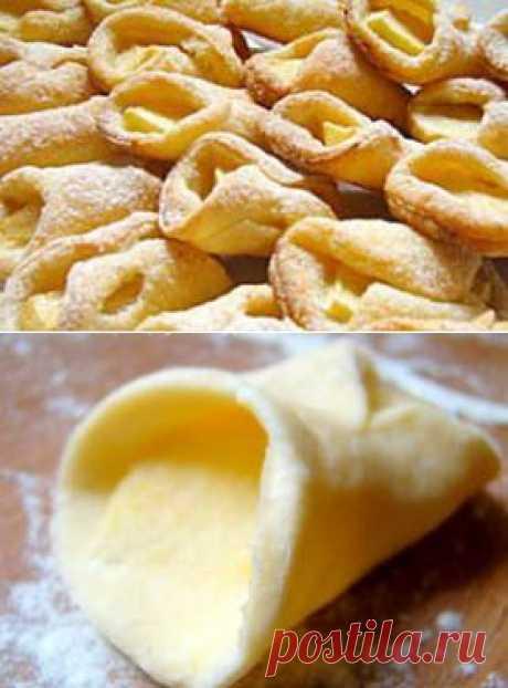 Простой рецепт печенья - печенье каллы