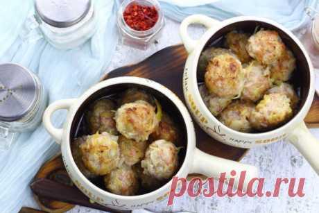 Тефтели в горшочке — Sloosh – кулинарные рецепты