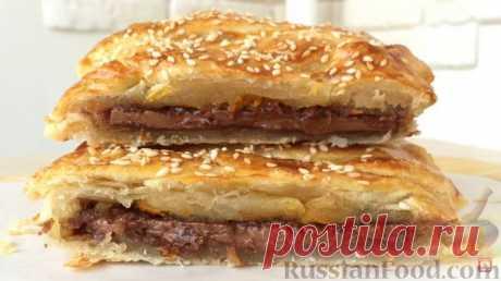 Рецепт: Слойки с шоколадом на RussianFood.com