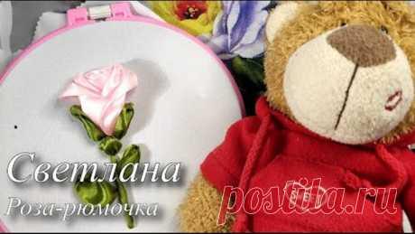 "МК ""Роза=рюмочка""/DIY glass of rose"
