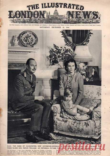 1944.12.30 - The Illustrated London News | Sovetika.ru - обложки старых журналов