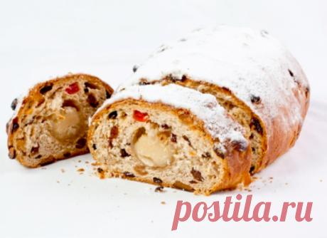 Los bizcochos con pasas navideños - como preparar Panettone, Shtollen y el Leño