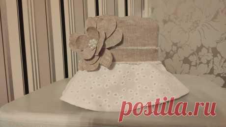 Было жалко выкидывать остатки красивой ткани от платья. Показываю, какую красоту я из них сшила к лету | Шебби-Шик | Яндекс Дзен