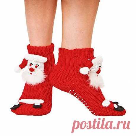 Носки «Дед Мороз» - Подарки - Новый год: MeggyMall.ru Интернет-магазин - 499р.