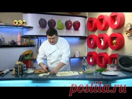 Слоёные трубочки из лаваша с картофельным пюре - Дело вкуса - YouTube
