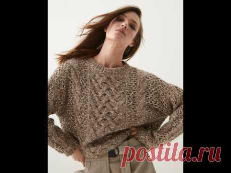 Воздушная коса как в свитере за 330 тыс. рублей:)