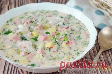 Окрошка классическая - рецепты освежающих витаминных супов