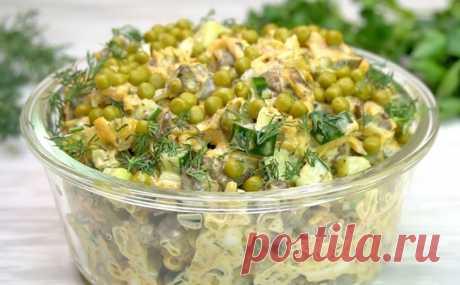Салат из печени стал популярнее Оливье. Делаем ее по-особому, с соевым соусом и чесноком
