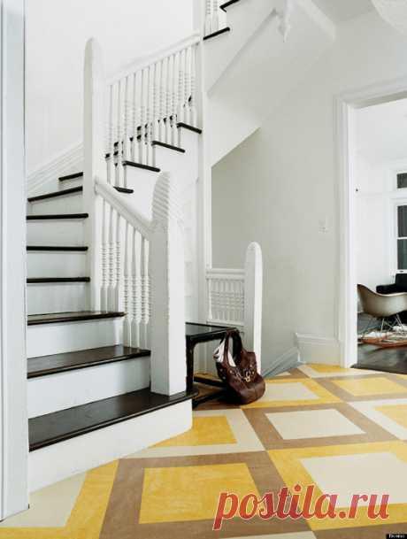 El diseño del suelo: 17 ideas de estilo de la formalización del detalle importante del interior