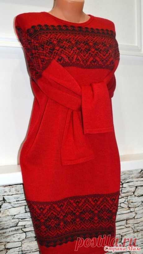 Платье. - Вязание - Страна Мам