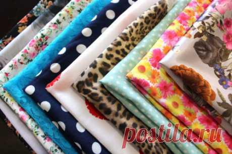 Лоскутки ткани | | Бархатный лепесток