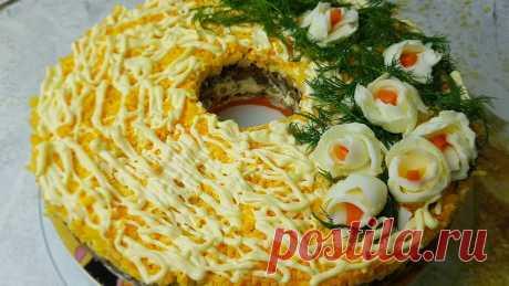 Салат «Купеческий»: простой и вкусный мясной салат