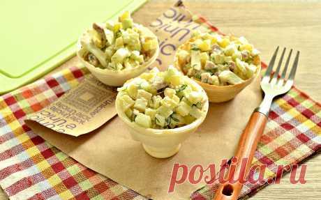 Салат с индейкой - готовим красиво и вкусно!