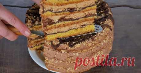 Вкуснейший тортик «Белочка»