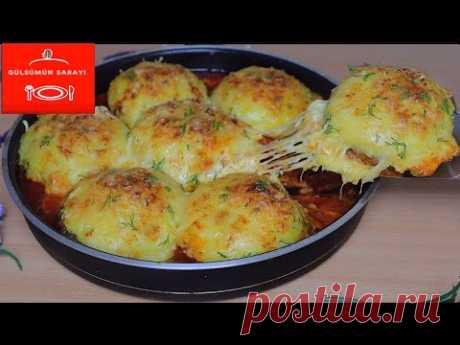 Очень вкусные рецепты картофельных фрикаделек / Ужин, вызывающий привыкание, УЖИН / 5-е