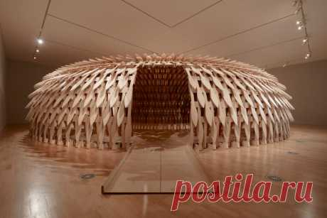 Кенго Кума проектирует Ботанический павильон как «трехмерную головоломку».