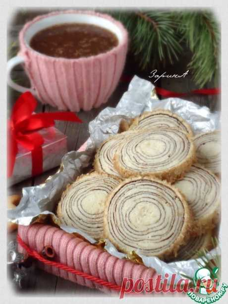 """Печенье """"Ствол дерева"""" - Очень красивое! А запах! А вкус! И прелестные какие!"""