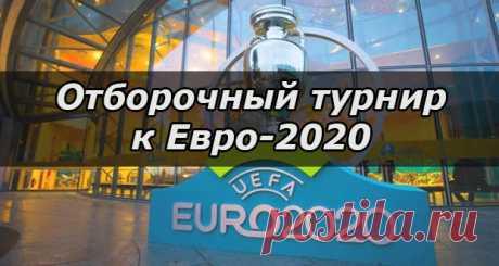 Отборочный турнир к чемпионату Европы по футболу 2020: группы и расписание