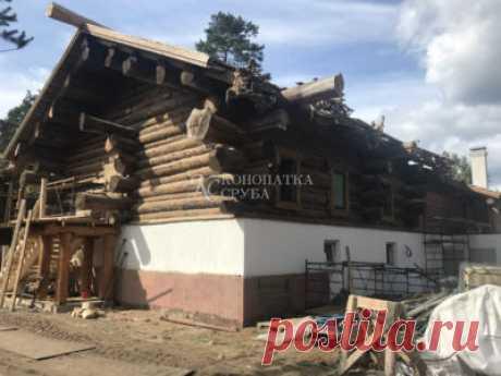 Компания Конопатка Сруба - Услуги утепления деревянного дома в Москве