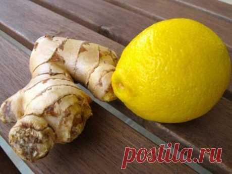 Лимон и имбирь: каким образом работают на жиросжигание?