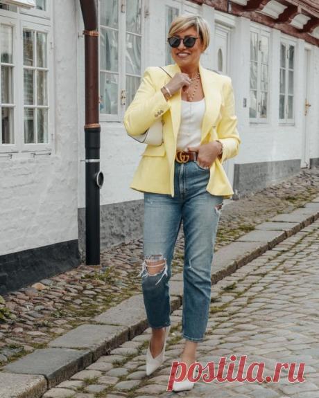 Что носить летом 2021 дамам 50 лет: 20 вариантов, которые выделят тебя из толпы