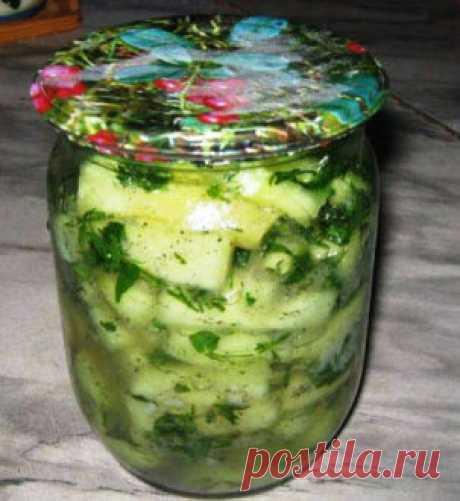 Vegetable marrows as milk mushrooms - we Will prepare tasty