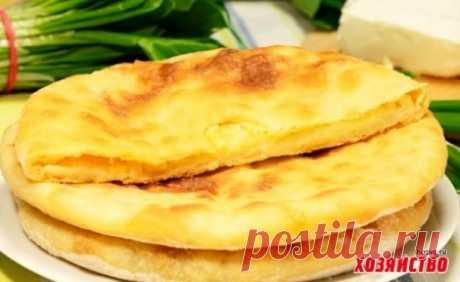 Осетинский пирог с картофелем и сыром (картофджин) | За чашкой чая
