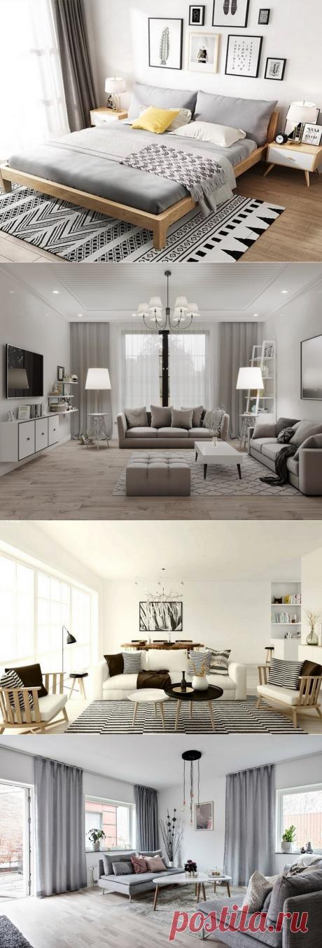 Выбор мебели в скандинавском стиле | Роскошь и уют