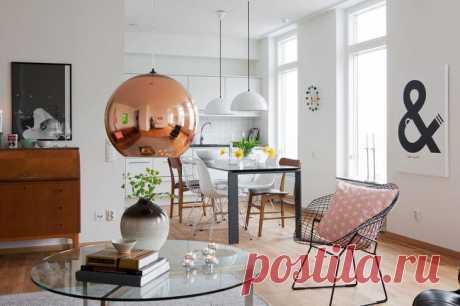 Как оформить квартиру в скандинавском стиле Эти апартаменты на западном побережье Мальме лишь доказывают, как важны детали в белом интерьере и как внимательно следует их выбирать. Давайте секреты и приемы декора внимательно изучать. Оформить ид...
