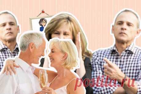 Мой свекор женится. Как настроить мужа, чтобы он пришел на свадьбу отца | Бихеппи | Яндекс Дзен