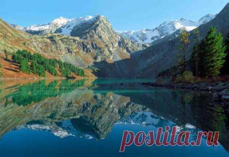 Телецкое озеро — Потрясающее место в России...