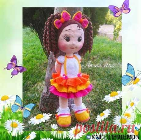 КУКОЛКА  #кукла_крючком@knit_toyss, #крючком_игрушка@knit_toyss  Перевод - Хабалкина Г.В  Источник: https://vk.com/wall-169520018_34666?z=photo-169520018..
